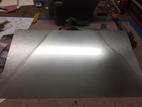 Sheet metal preparation